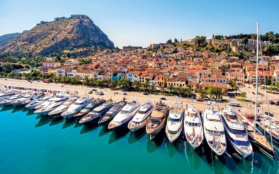 Средиземноморский яхтенный фестиваль в Греции
