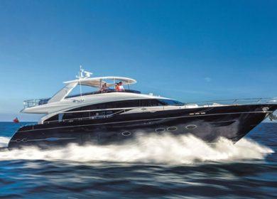 Чартерная элитная яхта Princess 26 метров на Адриатическом море