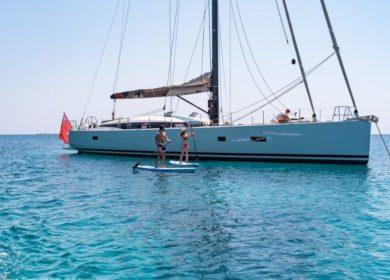 Шикарная парусная яхта NEYINA 23 метра на Средиземном море