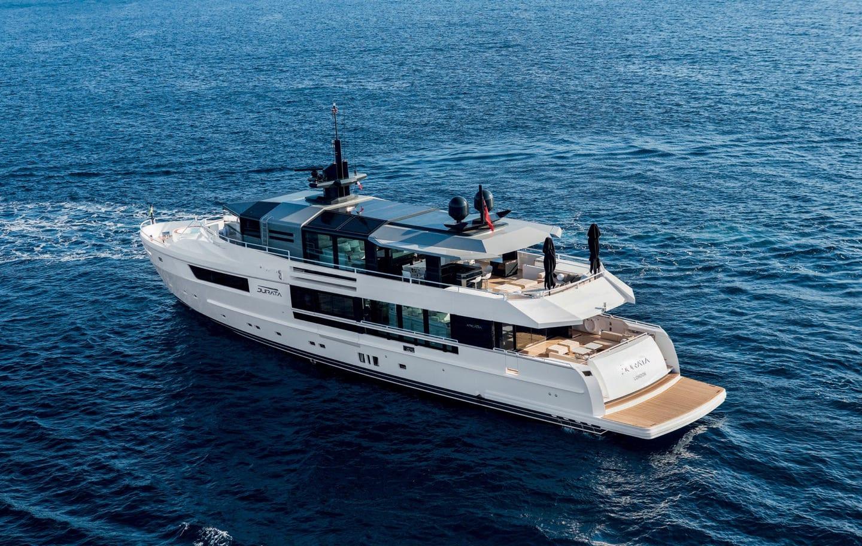 Большая яхта класса люкс ARKADIA