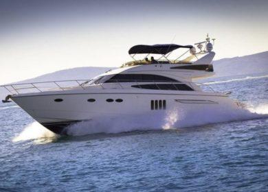 Элитная чартерная яхта Princess 20 метров для аренды в Хорватии