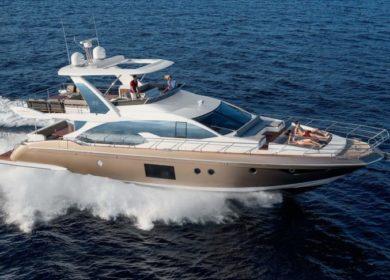 Чартерная супер яхта Azimut на Багамских островах