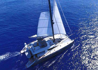 Катамаран класса люкс NAMASTE 24 метра