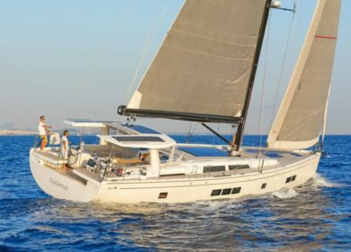 Шикарная парусно-моторная яхта HANSE YACHTS 20 метров