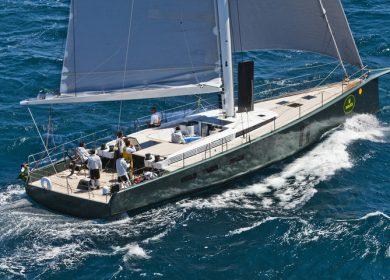Шикарная парусно-моторная яхта MAXI DOLPHIN 22метра на Средиземном море