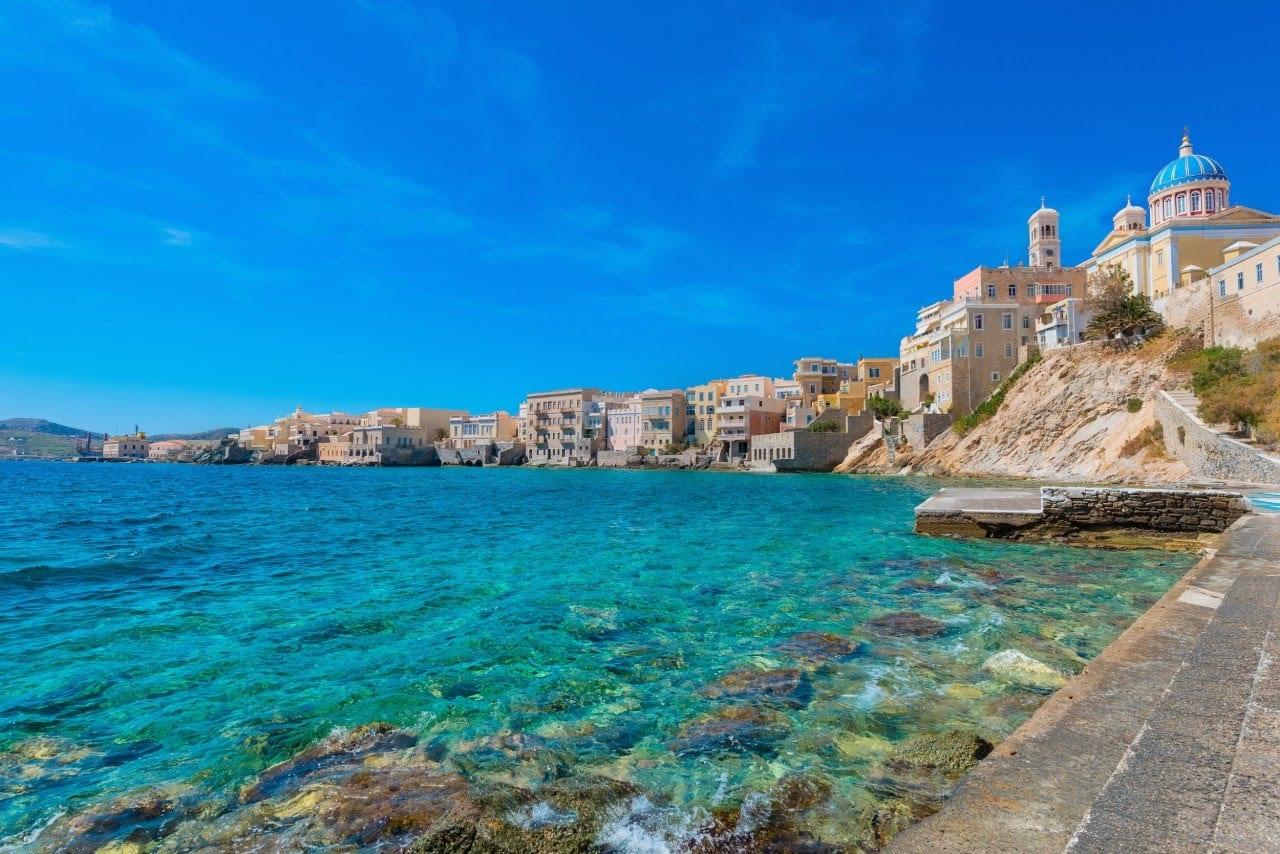 Греческие Киклады на чартерной мегаяхте
