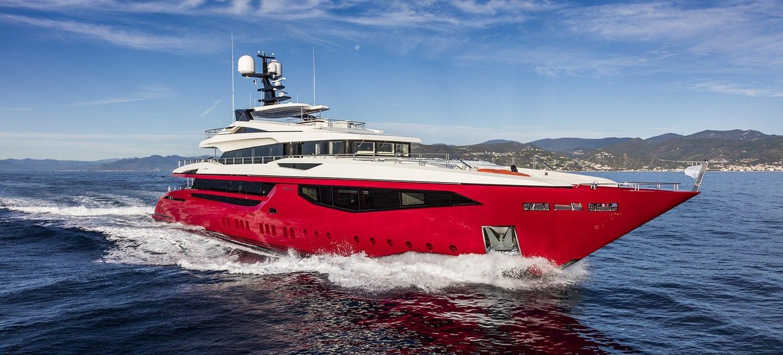 Большая чартерная мега яхта Mondomarine 50 метров