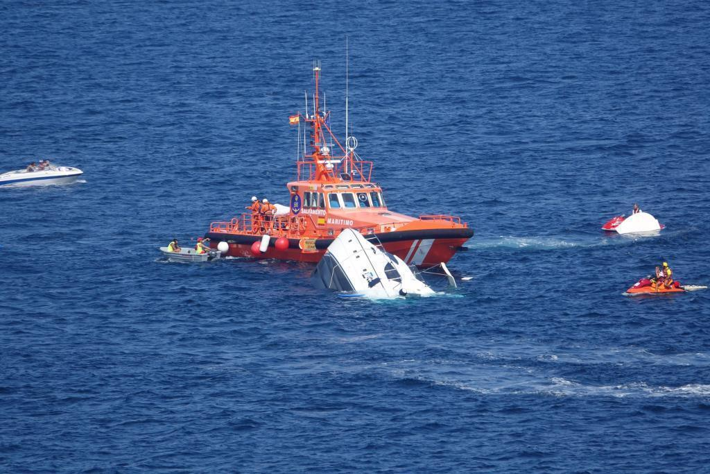 Чартерная супер яхта затонула на Майорке