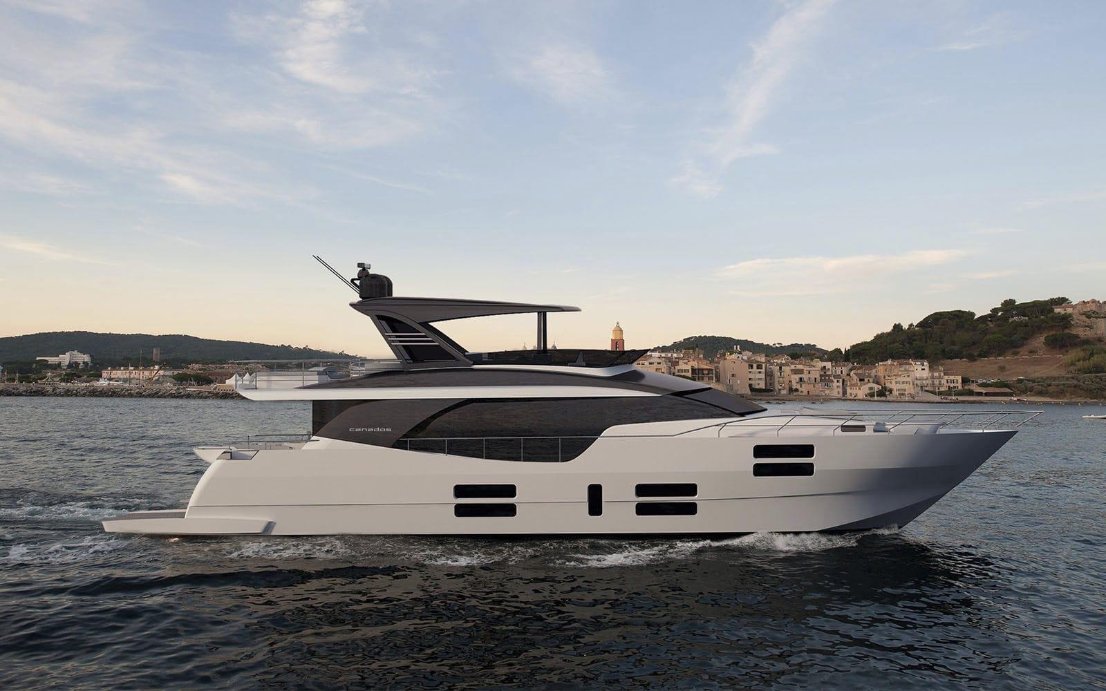 Роскошная супер яхта Canados 808 Maximus