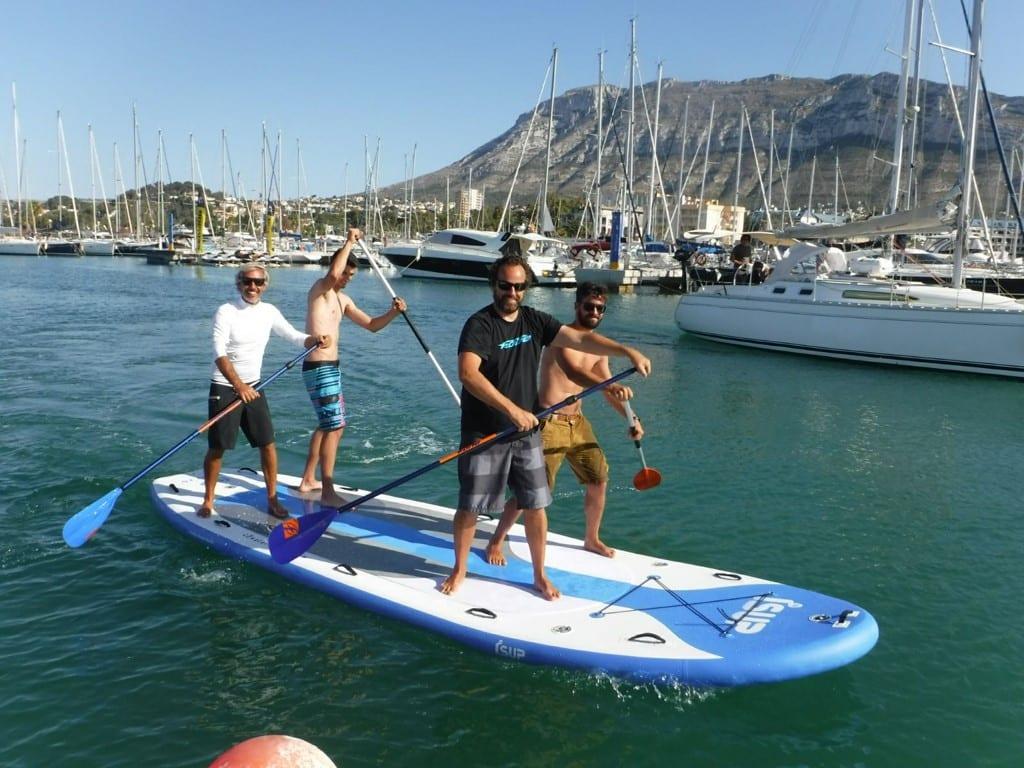 Марина для больших и дорогих яхт в Испании