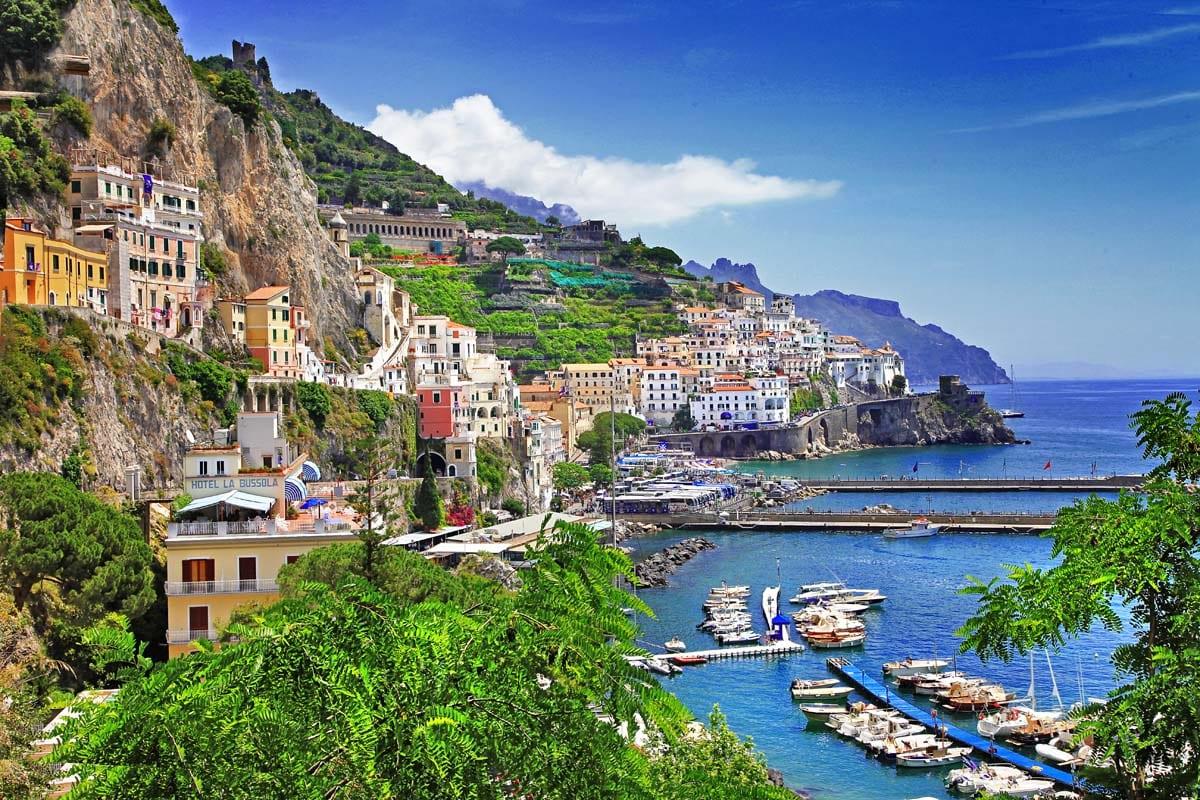 Западное побережье Италии