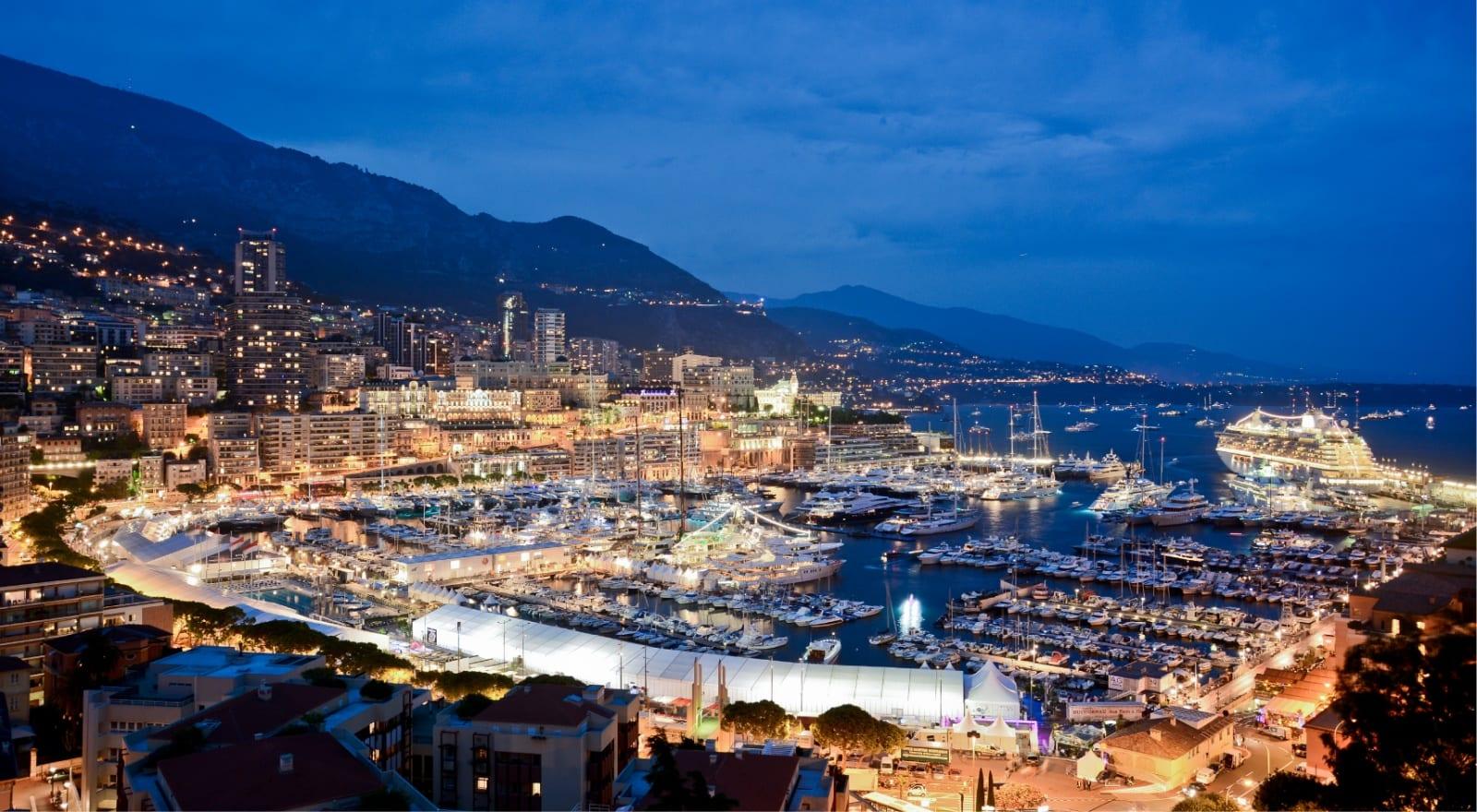 Яхтенное шоу в Монте Карло 25-летний юбилей
