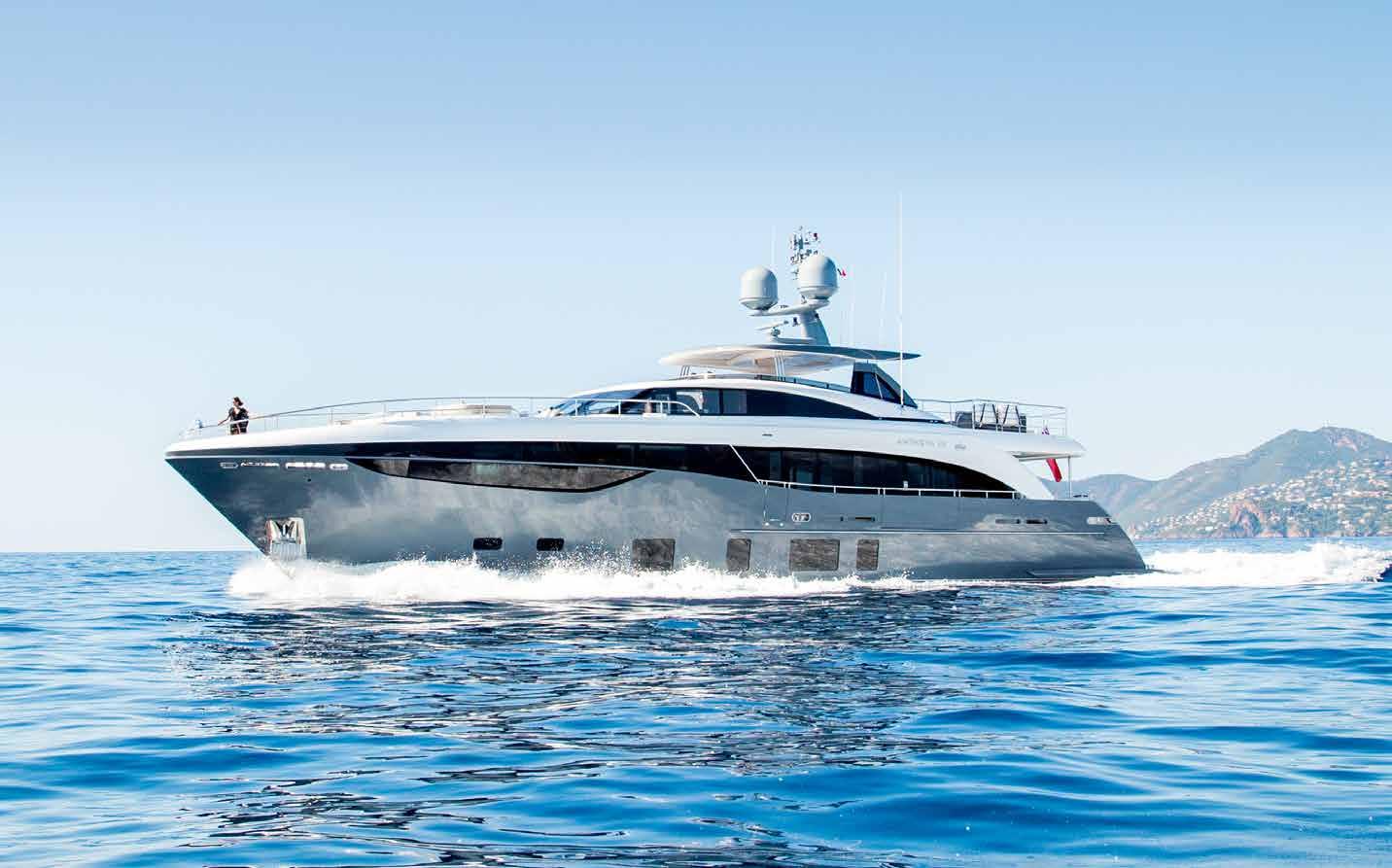 Супер яхта Princess 35 метров во Франции