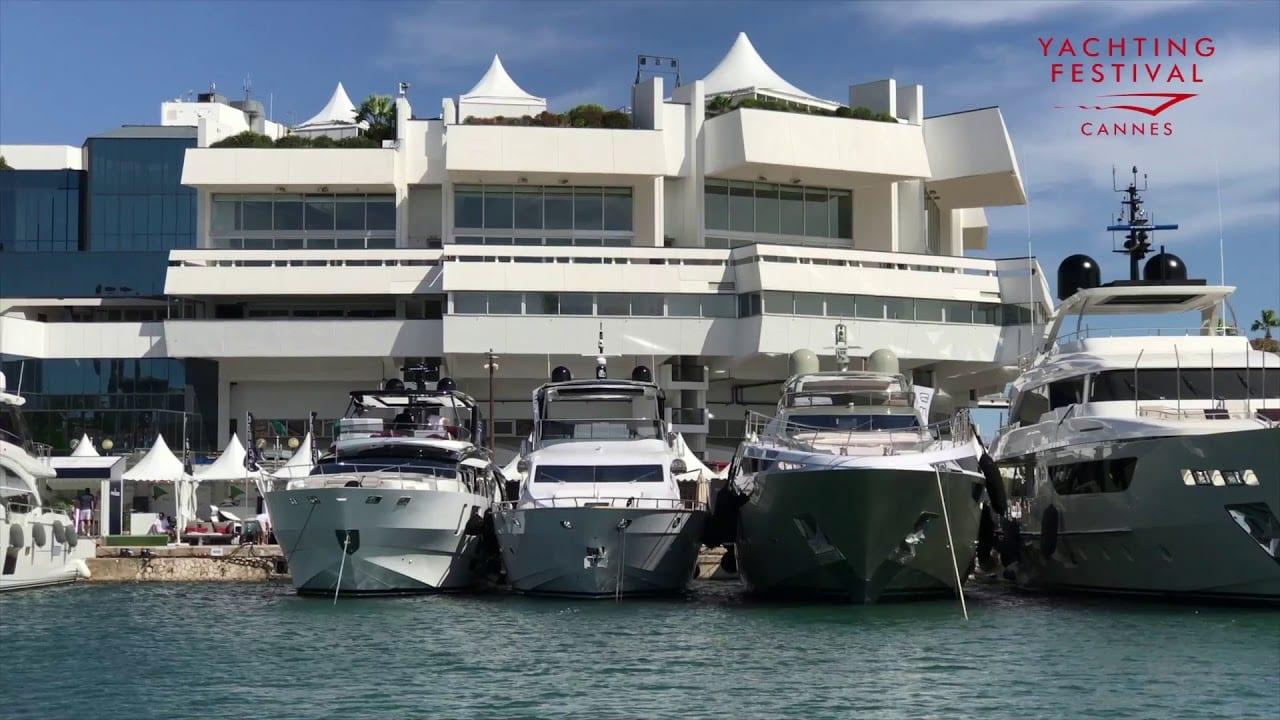Яхтенный фестиваль в Каннах во Франции