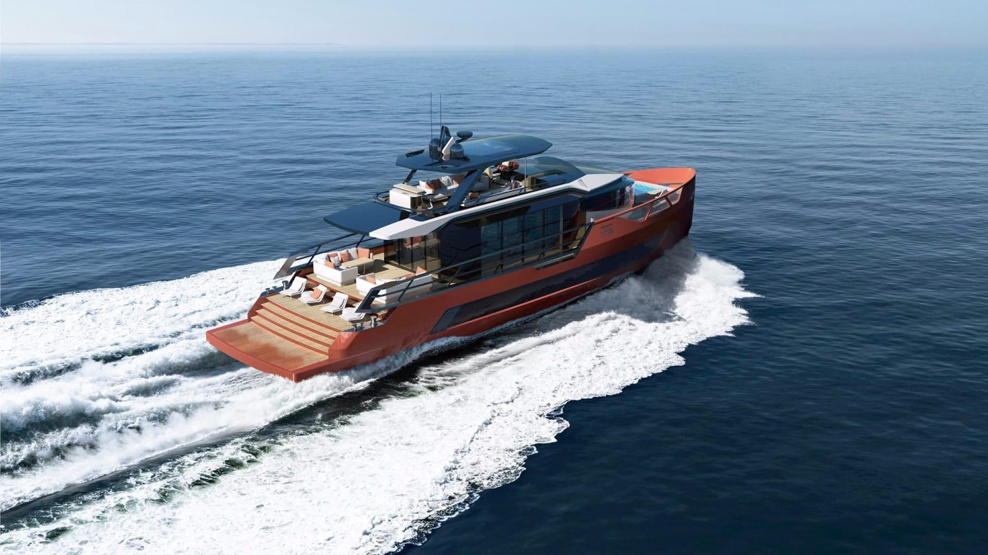 Роскошная элитная яхта Sarp в Турции на Средиземном море