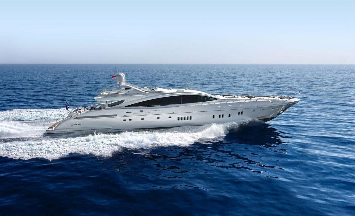 Чартерная мега яхта класса люкс Да Винчи от Мангуста 50 метров