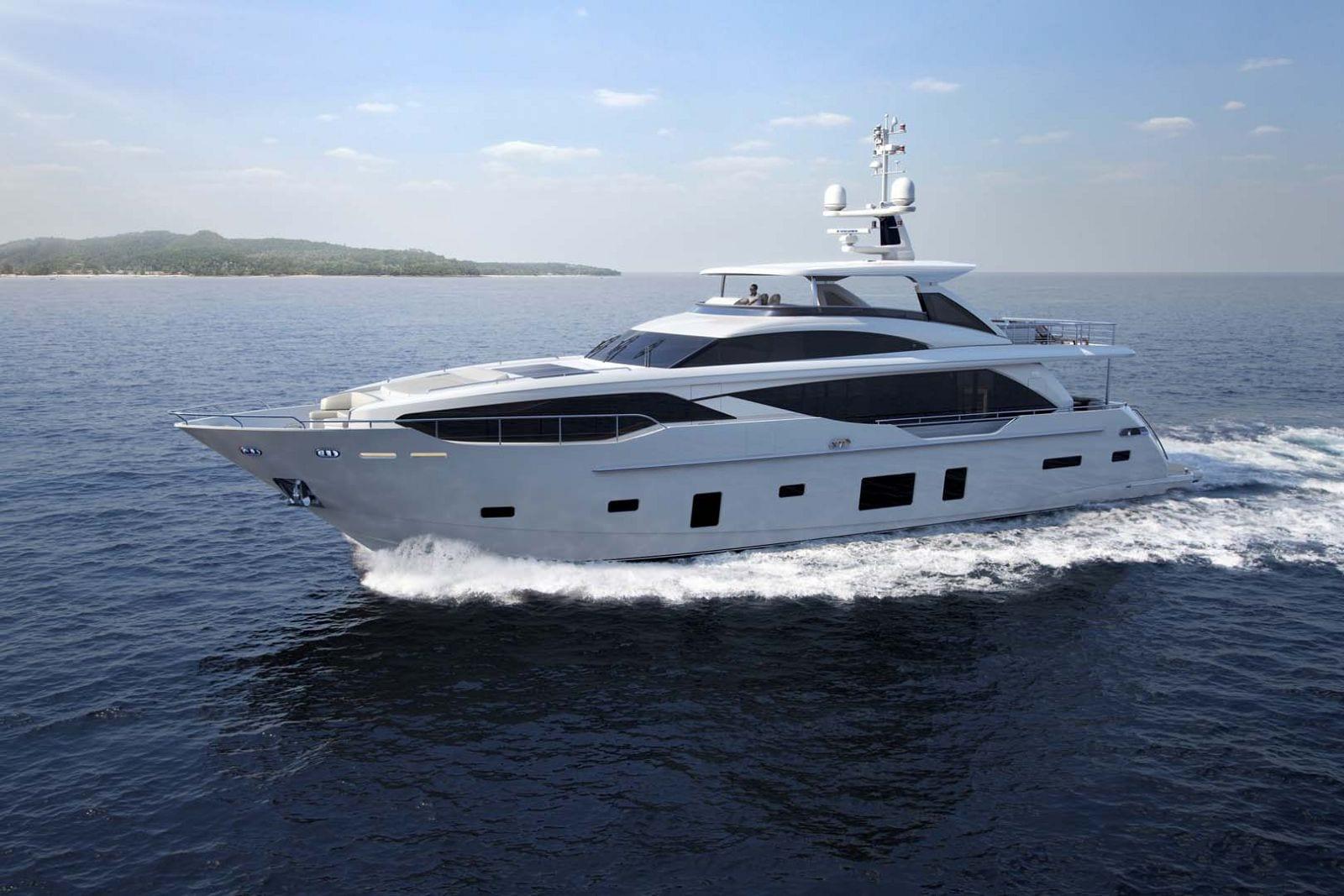 Супер яхта Принцесс 30 метров спущена на воду