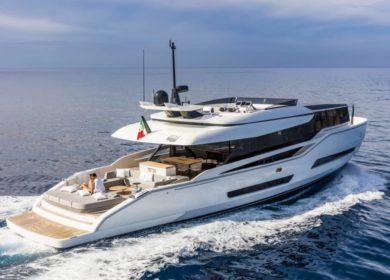 Роскошная яхта Moanna 1 в Италии