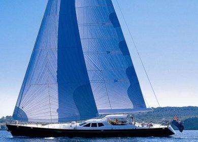 Чартерная парусная суперяхта PENDENNIS 29 метров в Греции