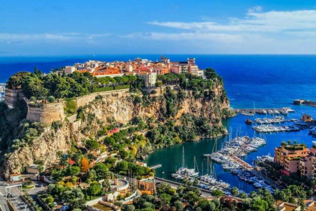 Марина для мегаяхт в Монако