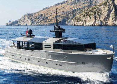 Чартерная элитная суперяхта Arcadia Yachts 35 метров на Средиземном море
