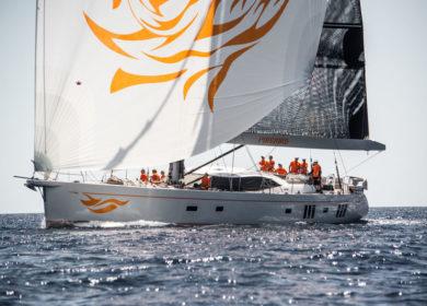 Парусная суперяхта 26 метров Oyster Yachts на Карибских островах