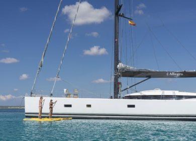 Парусная суперяхта Allegro 23 метра на Виргинских островах