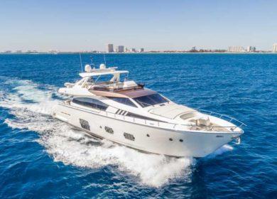 Супер яхта 30 метров