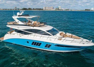 Чартерная моторная яхта на Карибах 20 метров Sea Ray