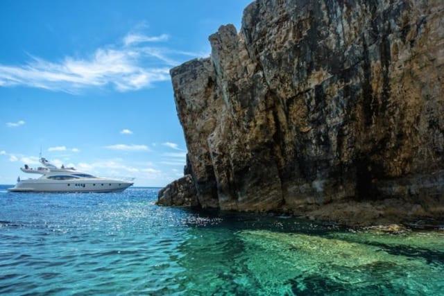моторная яхта 20 метров - Греция