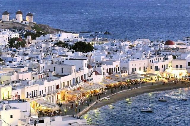 Миконос - Греция - Киклады