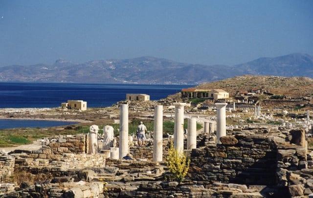 Греция остров Парос - Киклады
