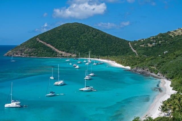 Яхты и катамараны на Виргинских островах