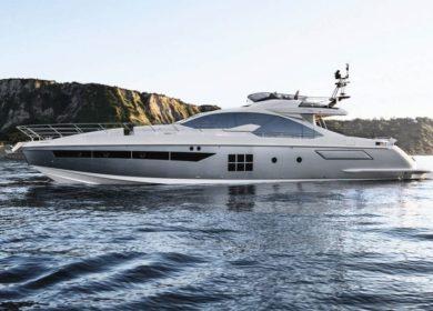Яхта Азимут 20 метров