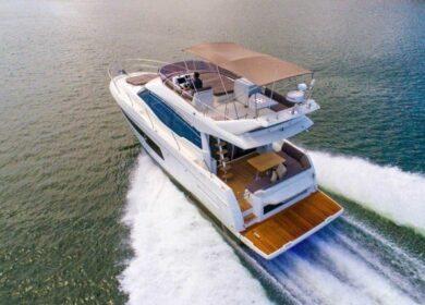 моторная яхта 15 метров
