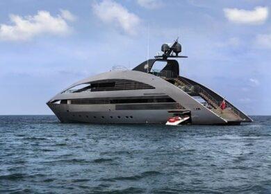 супер яхта 40 метров