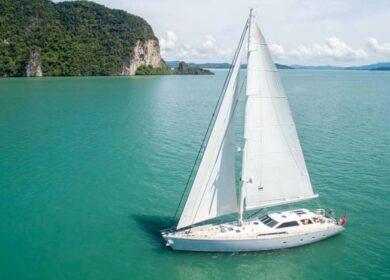 парусная яхта 30 метров