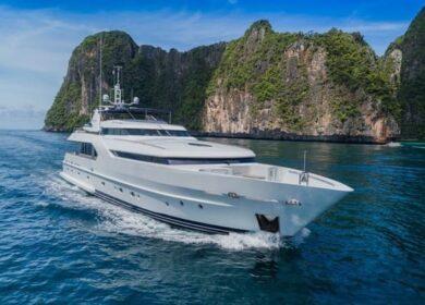 моторная яхта 35 метров Мунен