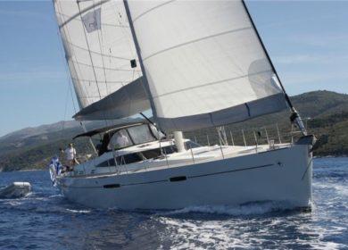 Парусная яхта 20 метров на Карибских островах
