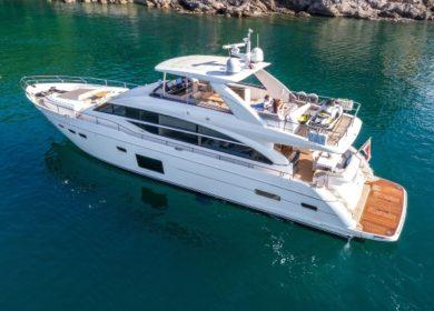 яхта Принцесс 25 метров