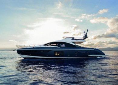 элитная яхта Azimut 20 метров