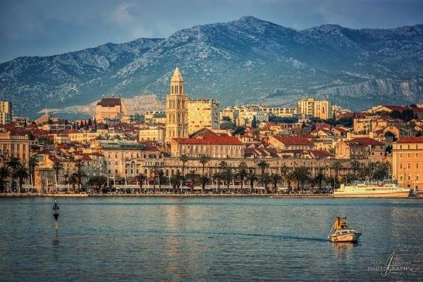 Сплит Хорватия мегаяхты