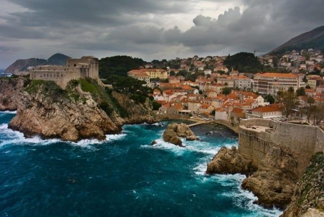 Дубровник Хорватия море
