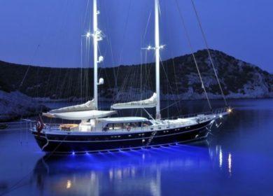 Чартерная турецкая парусная яхта 35 метров