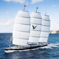 Мальтийский сокол яхта 88 метров