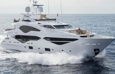 Чартерная мега яхта Exodus от Sunseeker