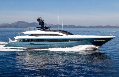 Чартерная мега яхта IRISHA