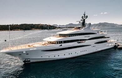 Чартерная мега яхта Lady Jorgia - 74 метра