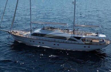 Чартерная парусная яхта Acapella 49 метров