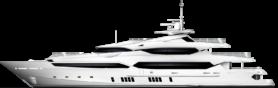 superyacht vector